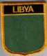 Libya Old Embroidered Flag Patch, style 07.